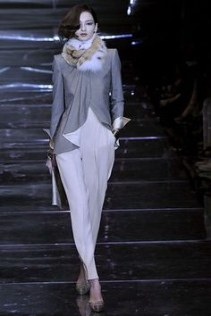 Armani Privé Fall 2008 Couture - Collection - Gallery - Style.com