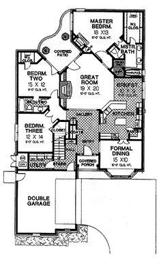 FULL SITE-Tudor Meets English Cottage (HWBDO07159) | Tudor House Plan from BuilderHousePlans.com