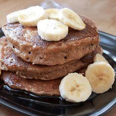 Vegan Spiced Coconut Pancakes