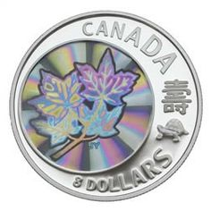 $8 2007 Fine Silver - Maple of Long Life