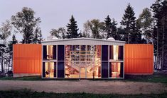 Underground Shipping Container Homes | This finished house is virtually indistinguishable from conventional ...