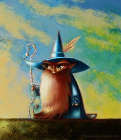 Wizard. art by © 2012 Juan Bauty