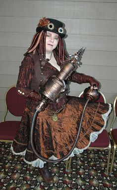 My wife as Europa - Norwescon 2012 by helix90, via Flickr
