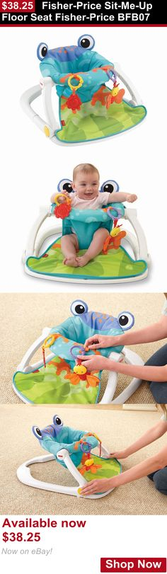 Baby bouncers and vibrating chairs: Fisher-Price Sit-Me-Up Floor Seat Fisher-Price Bfb07 BUY IT NOW ONLY: $38.25