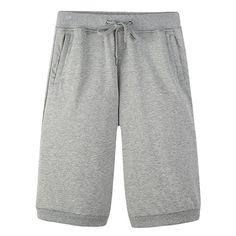 Men's casual shorts solid color soft cotton man compression short pants comfortable loose homme sweatpants M-XXXL