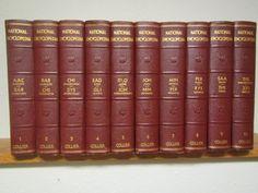vintage, 10 vol. set 1949 COLLIERS NATIONAL ENCYCLOPEDIAS: Complete A thru Z * Illustrated