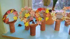 Simple, cute craft ideas for autumn - ideas # for . - Fall Crafts For Kids Autumn Activities For Kids, Fall Preschool, Fall Crafts For Kids, Preschool Crafts, Art For Kids, Cute Crafts, Easy Crafts, Diy And Crafts, Autumn Crafts