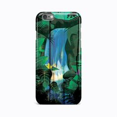Floral Wood Craft Green Hard Case Cover Apple iPhone 4 4S 5 5S 5c SE 6 6S 7 Plus #Apple
