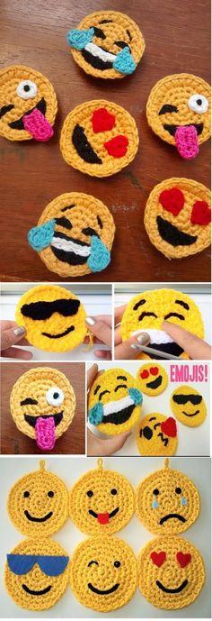 Crochet Simple Owl Applique