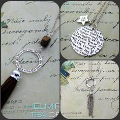 Trendikkäät tasselikorut nyt myynnissä. #tasseli #tassel #tupsut #kaulakoru #necklace #love #hope #faith