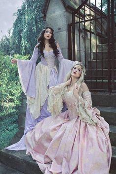 celtic medieval dresses | medieval dress # gothic