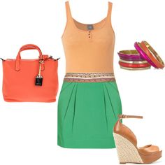 Summer Color, created by alana2187 on Polyvore