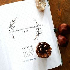Bullet Journal - Melanie Gürtler Illustration - Lettering - Handlettering - Calligraphie Illustrator, Bullet Journal 2019, Bullet Journal Inspiration, Art Of Living, Scribble, Doodles, Hair Accessories, Floral, Journaling