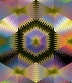 Imagens Caleidoscopicas e Hipnoticas de Andy Gilmore