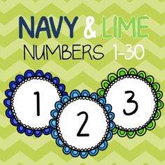 Seriously, what can't you use these adorable round numbers for in your classroom?Number line!Lunch numbers!Classroom numbers!Calendar!Cubby labels!Call-On Sticks!The possibilities are endless with these bright, stylish and FREE numbers!