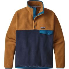 b2f6e7ec9ec0cd Patagonia Men s Lightweight Synchilla Snap-T Fleece Pullover