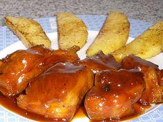 Unas Riquisimas Chuletas de Cerdo con Naranja especialmente elaborado para el agrado de su paladar y...