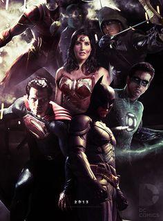 Justice League Movie Fan Poster