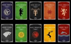 These Game of Thrones door decs would be so super cool!!!
