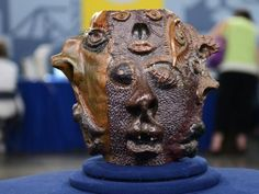 A creepy many-faced jug was appraised at $50,000 until it was discovered it was a 1970s high-school project.