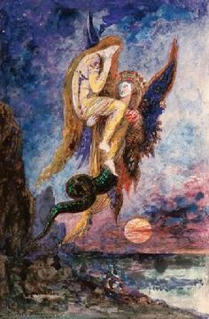 Gustave Moreau - chimère