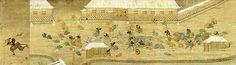 桜田門外襲撃図 (さくらだもんがい しゅうげきず) 有名な桜田門外の変を描いたもの。図中の白タスキをかけているのが、尊攘派武士たち。図の左側に太刀先に首を刺して走っているのは、有村次左衛門(薩摩藩士)で、彼が井伊直弼[いい なおすけ]を討ちとったとされている。 桜田門外の変 1860(万延元)年3月3日、大雪の江戸城桜田門外で水戸の浪士らが大老井伊直弼を殺害した事件。勅許を待たずに調印した安政仮条約、続いて安政の大獄と井伊大老の強引な幕府集権政治は、早くから反発され、直弼排撃の運動を誘引していた。計画立案は、高橋多一郎と金子孫二郎、実行は関鉄之助の指揮下、斉藤監物[けんもつ]・鯉渕要人[かなめ]・蓮田市五郎ら17名の脱藩の水戸浪士と在京の有村次左衛門[ありむら じざえもん](薩摩藩)でおこした。多くは自刃、自首して斬罪、捕斬となり、存命したのは2人。この事件が幕府の権威の失墜をもたらし幕末史の一大転換を開いたことは特記されてよい。 http://www.bakumatsu-meiji.com/bm_collection.html