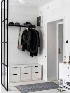 percheros, ideas para recibidores y vestidores