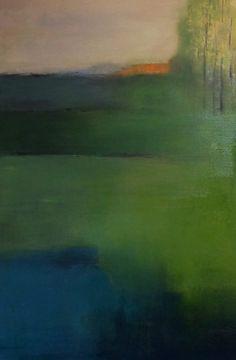 Ruimte 1, schilderij van Welmoed Reitsma | Abstract | Modern | Kunst