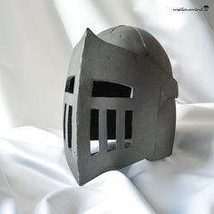 Knight Helmet template ideal for your childs next Knight, Princess, Dragon, Royal or Medieval Party. Simply print all pages, glue and cut along lines. Transfer all parts and markers to 4-6mm thick EVA foam and make this awesome medieval helmet for you kid yourself! PDF content: 5xA4 pages with parts template, instruction and visual references. Every page corner has a marker to help you glue all pages nicely together. IMPORTANT: Max children head circumference for this template: approx 52cm…