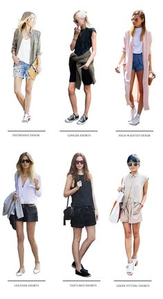 Styling ideas for shorts