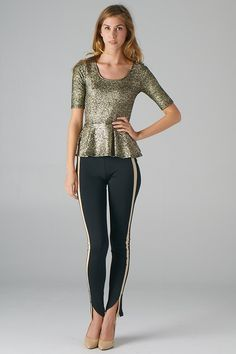 just bought this top. love this website Lavishville - Foiled Textured Peplum Top (Black Gold), $30.00 (http://www.lavishville.com/foiled-textured-peplum-top-black-gold/)
