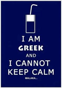 I'm Greek...