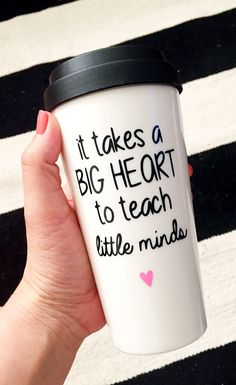 Teacher appreciation To Go Cup To Go Coffee Mug To by SipSoSweet