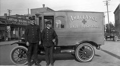 Ambulance Originally Operated by the Galt Hospital  1912?