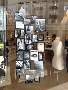 I saw this in a store window display.  I thought this is a Great idea for Photo…