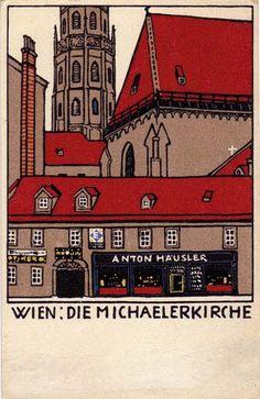 Wien / Michaelerkirche / Wiener Werkstatt