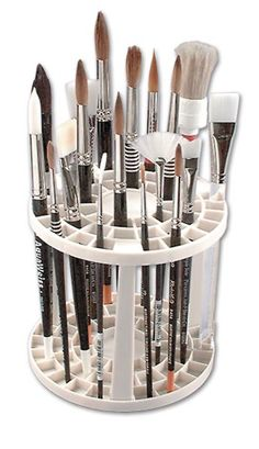 The Brush Crate - JerrysArtarama.com. Got one, super budget friendly, and I love it!