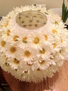 Can you see this in pink gerberas? Can you see this in pink g Faux Flowers, Diy Flowers, Paper Flowers, Diwali Diy, Diwali Craft, Diwali Decorations At Home, Flower Decorations, Diwali Lantern, Flower Lamp