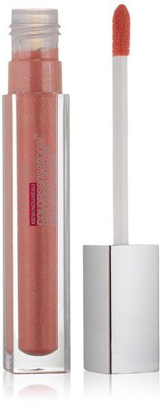 Maybelline New York Color Sensational High Shine Gloss, Glisten Up Pink, 0.17 Fluid Ounce