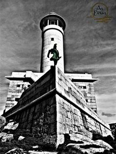 #lires #lighthouse #AsEirasLires #Costadamorte www.hotelcostadamorte.es