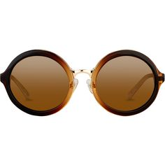 Round Sunglasses in Mocha Gradient with a Solid Lens by 3.1 Phillip... ($310) ❤ liked on Polyvore featuring accessories, eyewear, sunglasses, glasses, round frame sunglasses, uv protection sunglasses, round sunglasses, round lens sunglasses and lens glasses