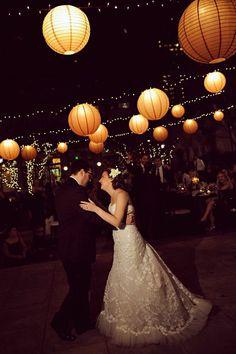 #Wedding #Venue #Reception #OutdoorWedding #Decor #FirstDance #Lanterns