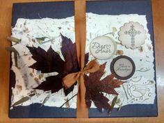 Tarjetas de condolencias personalizadas en Vintage, presentadas en caja decorativa con mensaje en caligrafía hecha a mano con pluma. Diseños Marta Correa Blog: disenosmartacorrea.blogspot.com Cel: 321 643 63 84