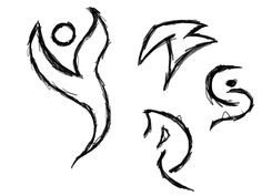 symbols draw cool easy meanings random drawings google tattoos tribal clipartbest hand stuff