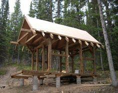 The Timber-Framed Cabin Project (Part 1, April - September 2006)