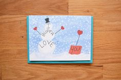 Buffalo Romance Card~ Buffalo card, greeting card, buffalo romance card, buffalo…