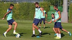 Training session 04/09/13 Barcelona Spain, One Team, Photo Galleries, Football, Train, Running, Sports, Image, Club