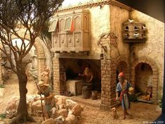 Miniature diorama with amazing detail...