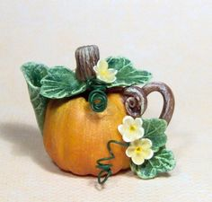 1/12 scale DOLLHOUSE MINIATURE HALLOWEEN HARVEST FALL by 64tnt