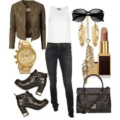 """""""street chic"""" by lcstylist-fashion on Polyvore"""